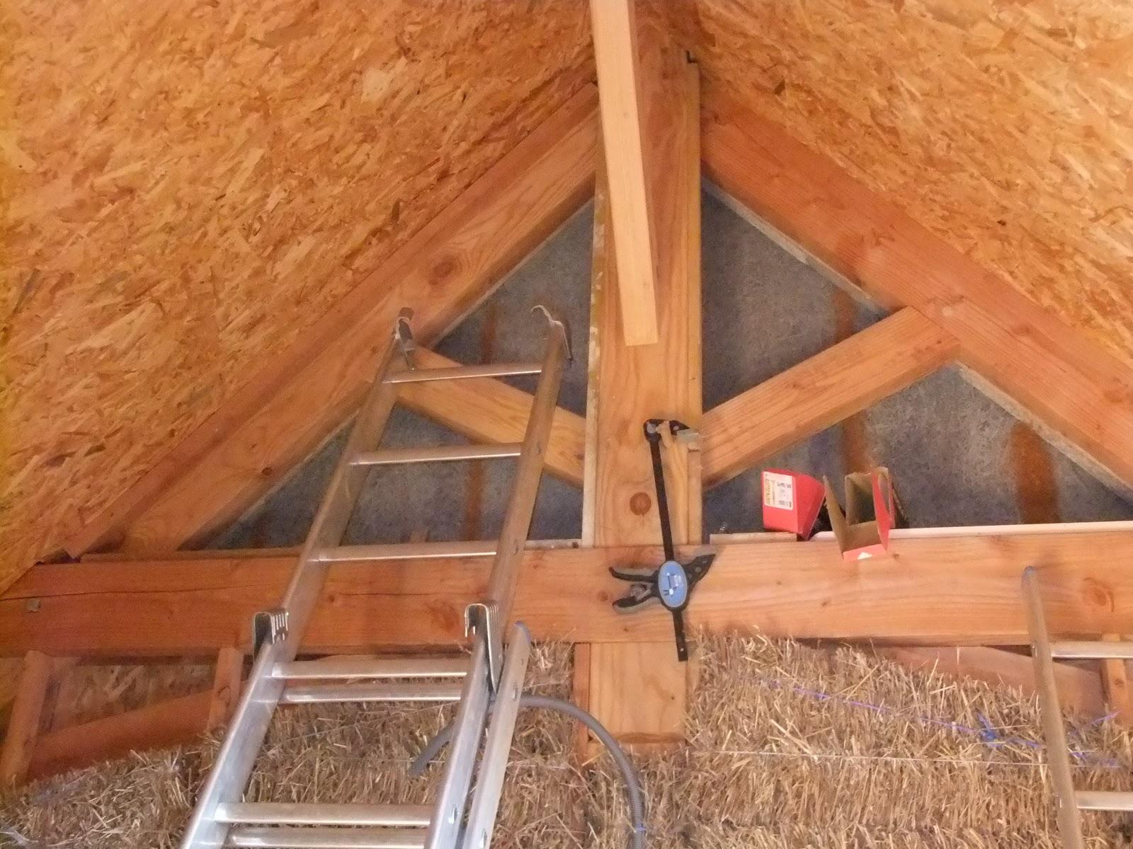 Eco projet en corr ze l 39 isolation des pignons - Epaisseur isolation toiture rt 2012 ...