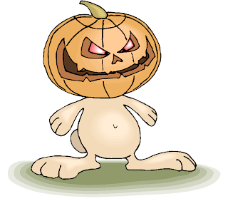 Scary Pumpkin Clipart