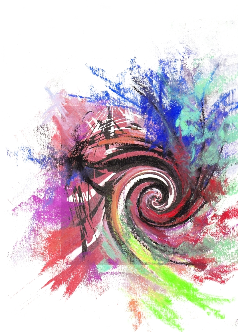 Abstract Calligraphy Abstract Calligraphy Circle In Circle