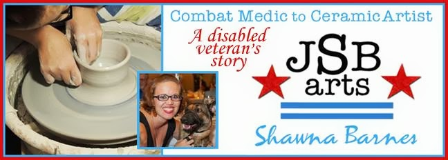 Combat Medic to Ceramic Artist...a Disabled Veteran's Story