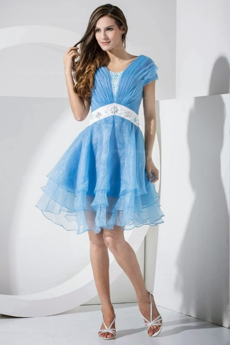 short prom dress with sleeves