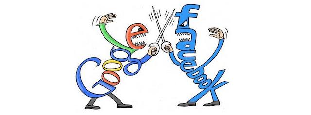 Facebook V/s Google