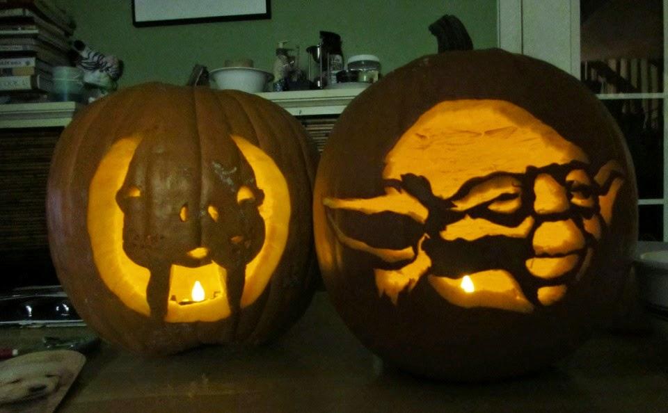 each day an adventure in alaska: pumpkin carving fun...