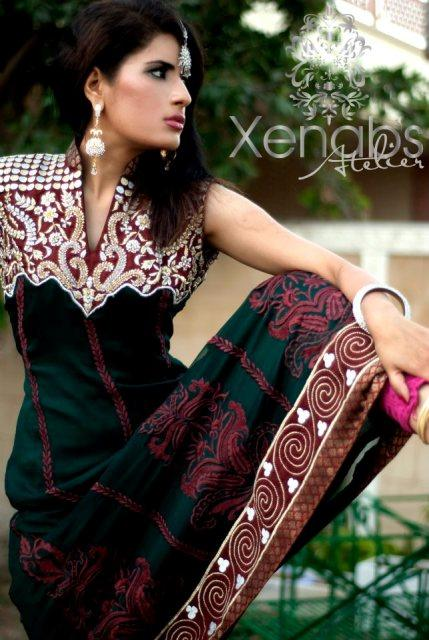 Xenabs Atelier Elegant Semi Formal Collection 2012 for women