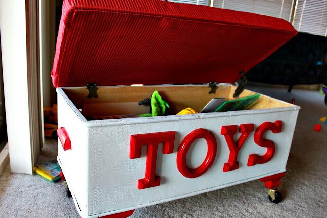 Короб под игрушки