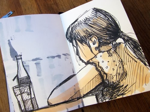 11-Sketchbook-Drawings-Artist-Alice-Pasquini-aka-AliCè-Illustrator-Set-Designer-Painter-Murals-www-designstack-co