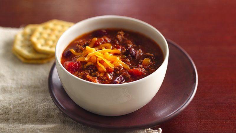 ... Suzanne @ ShabbyChicks: Mmmmmm.....Slow Cooker Sweet-Spicy Chili