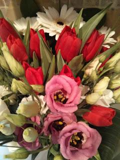 created flowers
