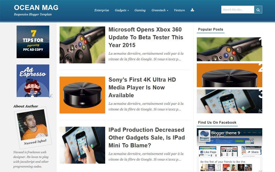 44 Best Free Responsive Blogger Templates Eyeobserver