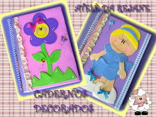 CADERNOS DECORADOS