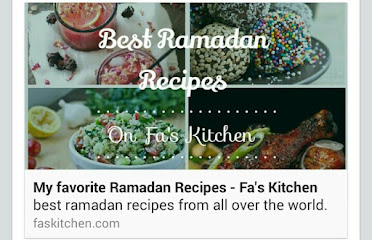 I WAS FEATURED ON FA'S KITCHEN BLOG