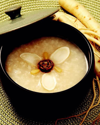 Ginseng jujube porridge