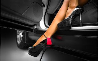 каблук шпилька автомобиль