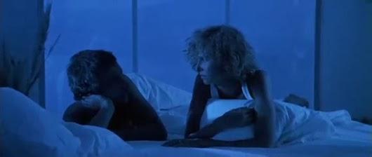 William Petersen y Kim Greist en 'Cazador de hombres'