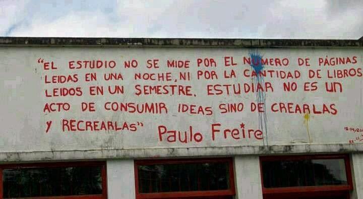 ESTUDIAR - PAULO FREIRE