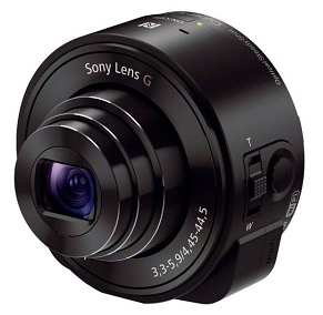 Sony QX10 lens turns your smartphone into a semi-professional DSLR
