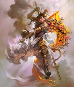 Cathay Monkey King Art