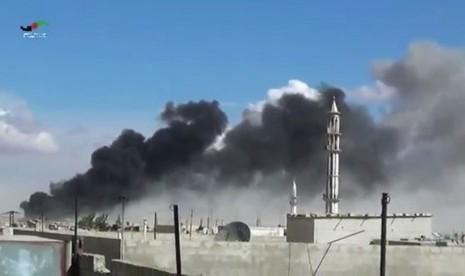 Turki dan AS Gempur ISIS di Suriah