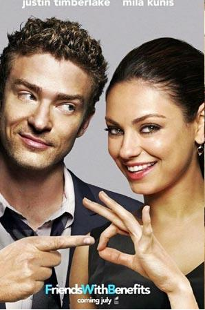 friends with benefits+justin timberlake