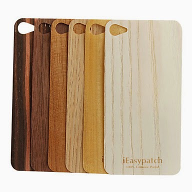 Funda iPhone estilo madera