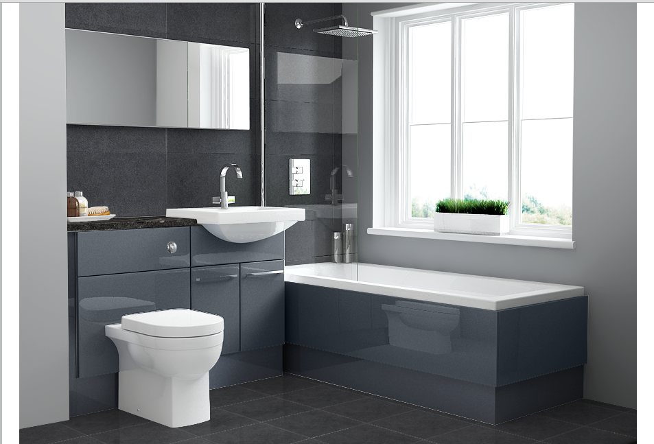 Visualise your new bathroom with utopia bathrooms red for Design own bathroom