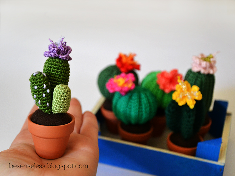 Amigurumi Cactus And Flower Crochet Pattern : Airali design. Where is the Wonderland? Crochet, knit and ...