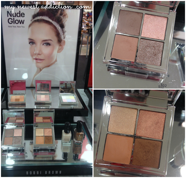 Bobbi Brown Cosmetics Nude Glow Katie Holmes Nude Bronze Palette Face Nail Polish Old Hollywood Glam