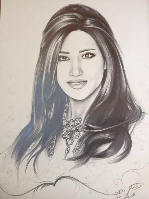 بالصور: رسومات الفنان التشكيلي محمد الديري في برنامج عرب جوت تالنت Arabs Got Talent S3