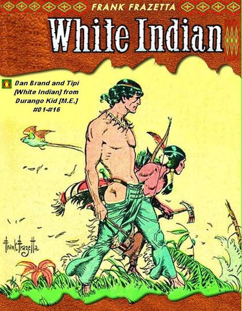 Dan Brand and Tipi [White Indian] from Durango Kid (M.E.) by Granada XV