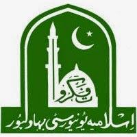 Islamia University Bahawalpur BSc Date Sheet 2016