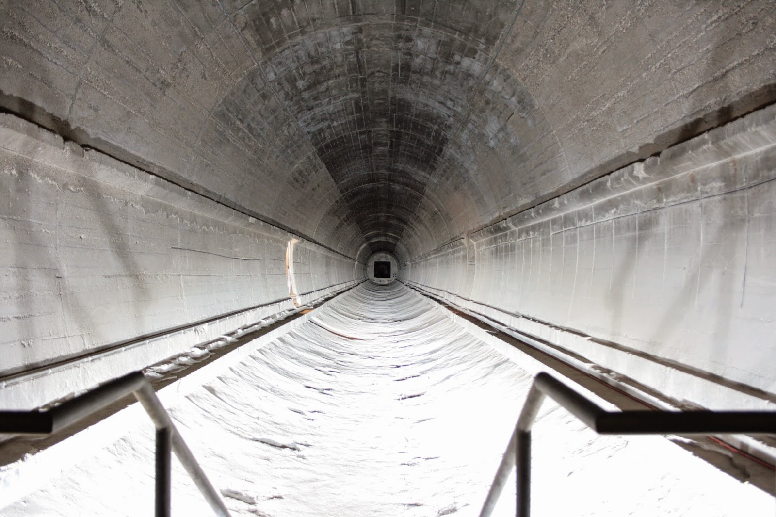 Dokumentationsstätte Regierungsstation Ahrweiler - Zurückgebauter Tunnel
