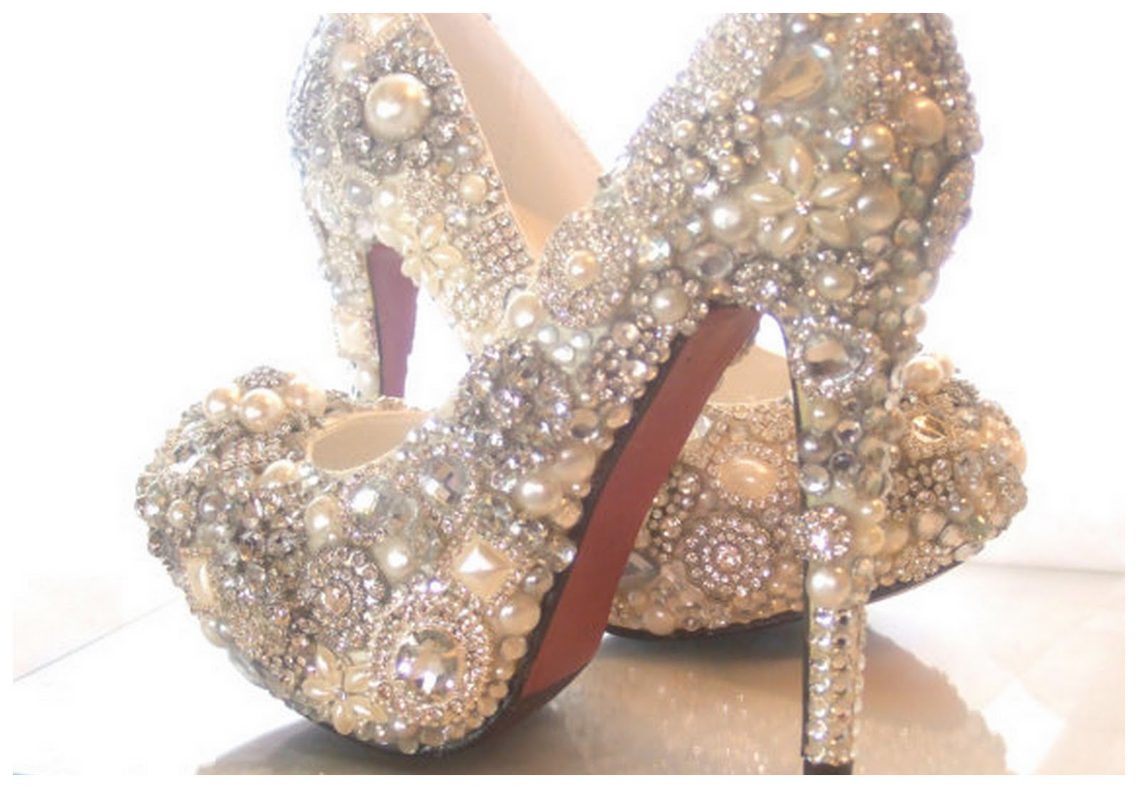 Beautiful Sparkly Shoes For Your Wedding Day Have Your Dream Wedding