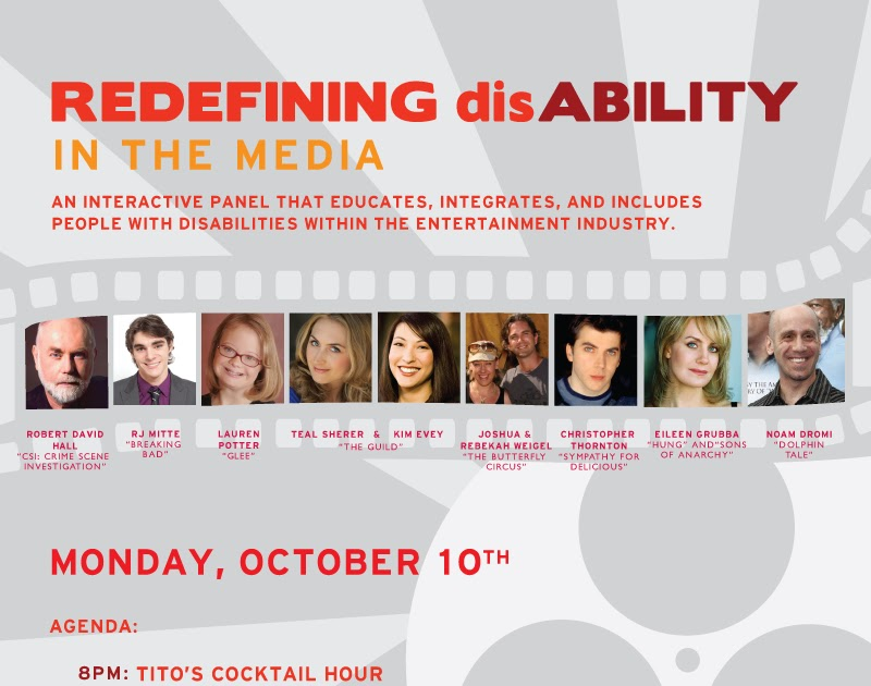people with disability and the media media essay Media of the people: broadcasting community media in  the broadcasting community media in australia is  community media offer people 'the opportunity.
