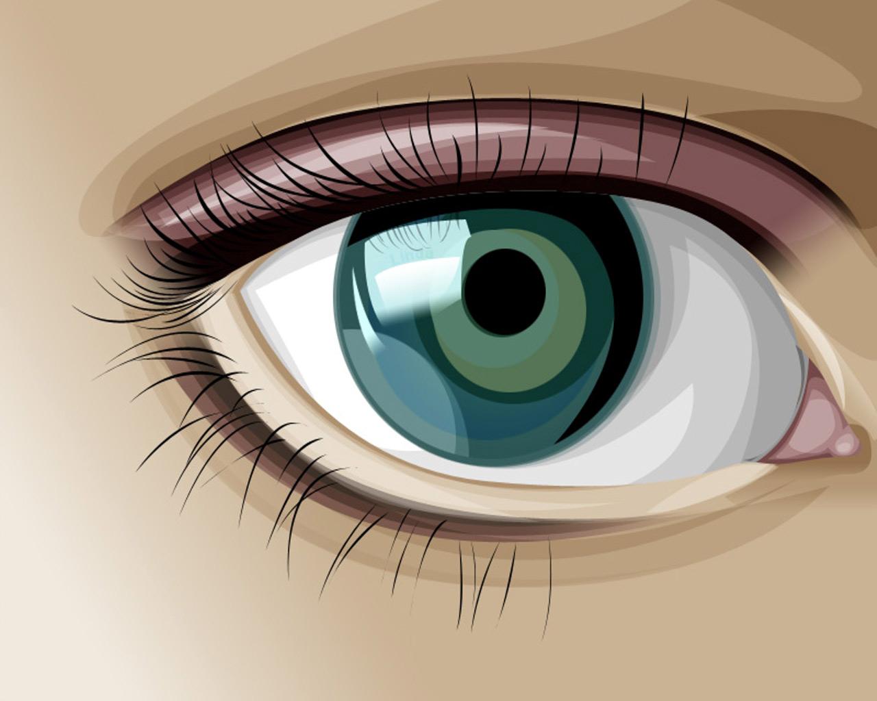 عکس چشم کارتونی