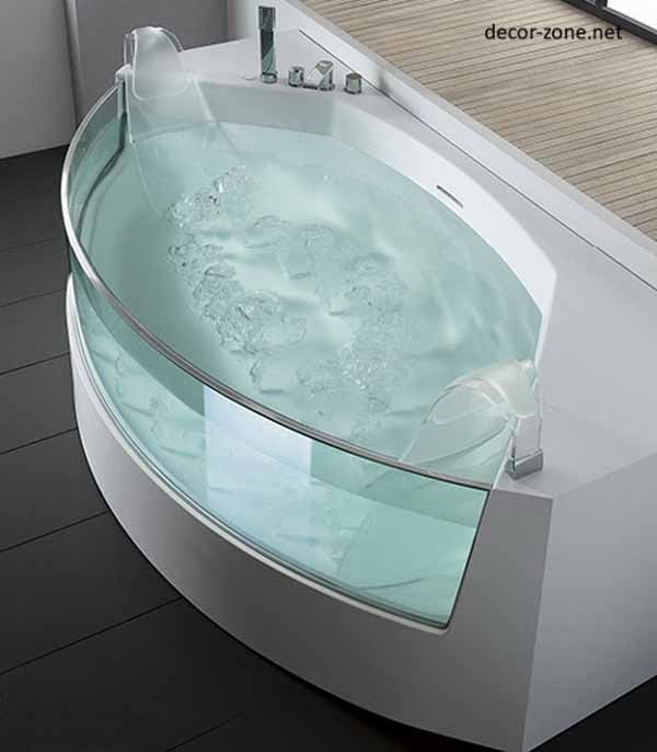 Bathroom Designs With Glass Bath, Ideas, Photos, Tips