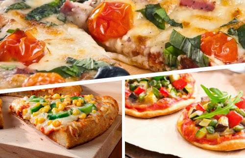 3 recetas deliciosas de pizzas vegetales