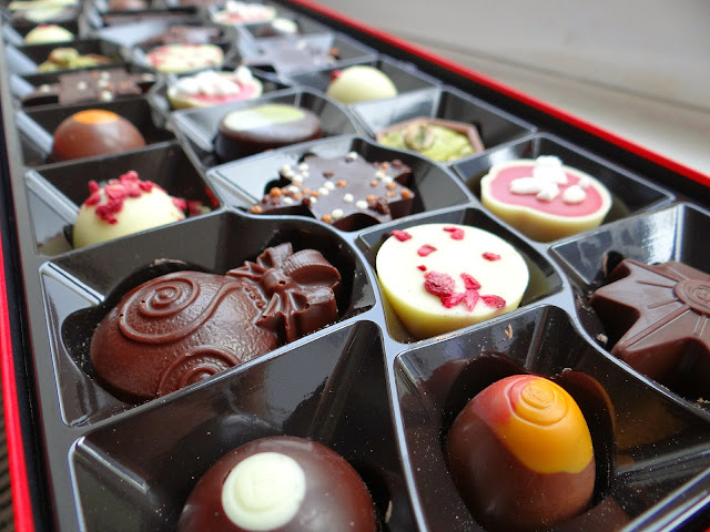 Christmas chocolates, Hotel Chocolat, luxury chocolates
