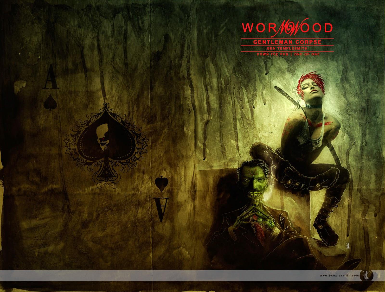 Wormwood Gentleman Corpse (by Ben Templesmith)