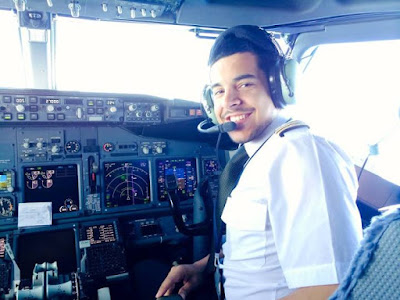 The glamorous life of a 24-year-old pilot