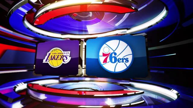 LA Lakers Vs Philadelphia 76ers Partido Completo NBA TSEBA