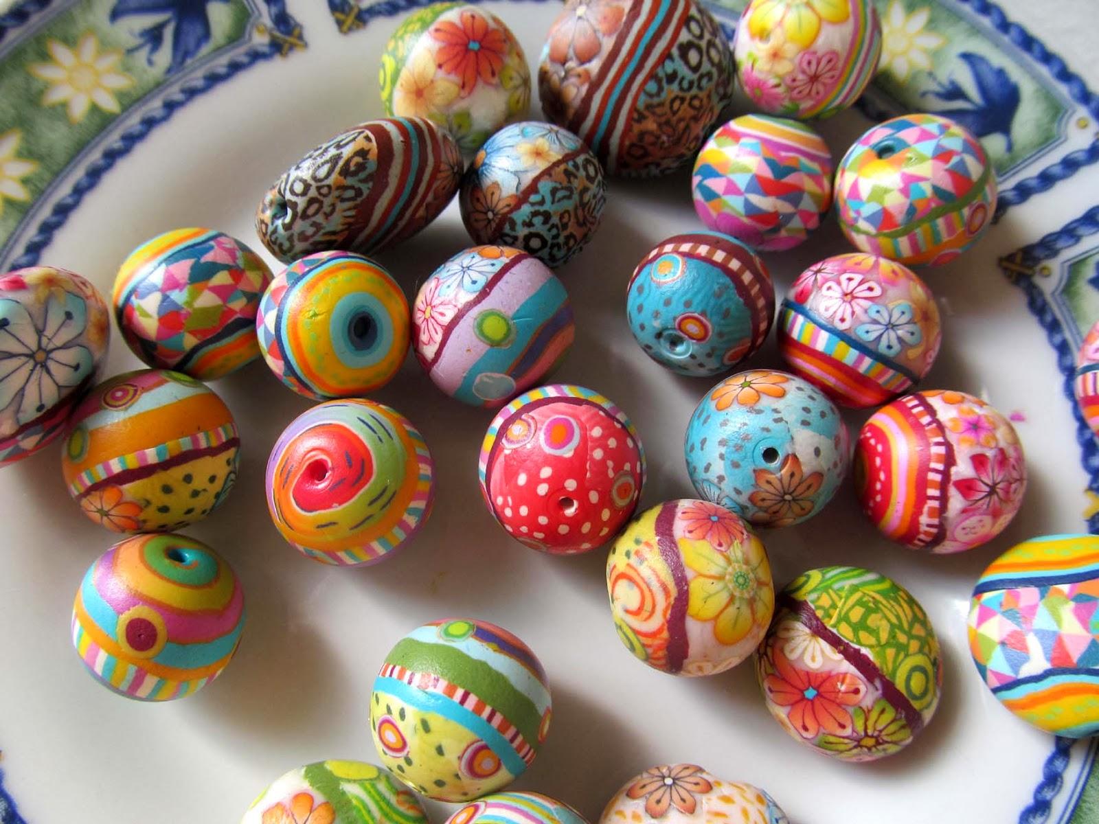 חימר פולימרי, חרוזי פימו,חרוזי חימר פולימרי,גלילי פימו,גלילי חימר פולימרי RHRfimo beads,polymer clay beads,