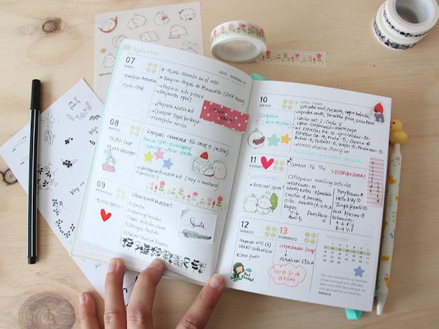 Little hannah ideas para decorar tu agenda en septiembre - Como decorar una agenda ...