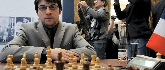 Le joueur d'échecs du mois: Maxime Vachier-Lagrave, n°5 mondial