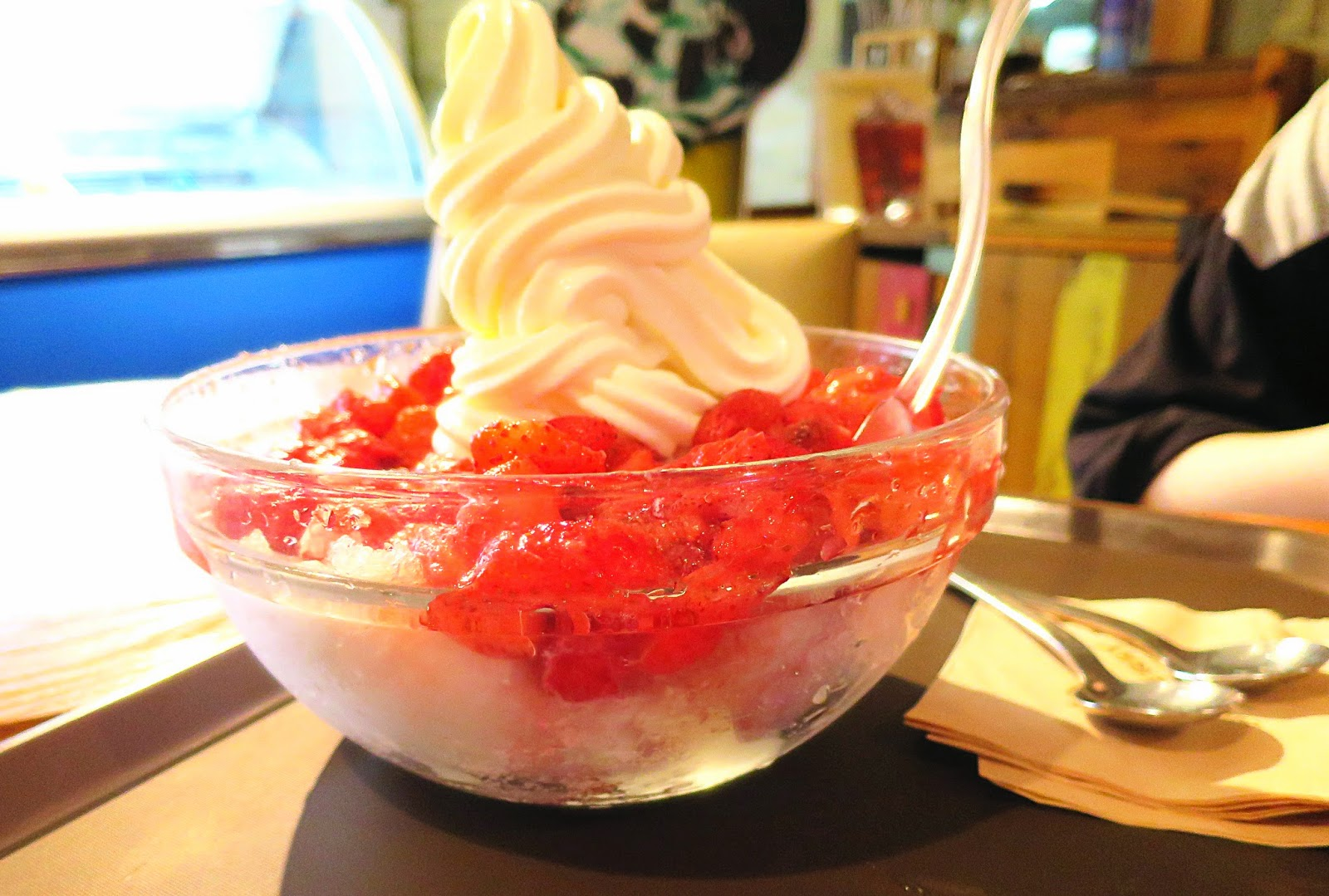 where to get patbingsu in south korea