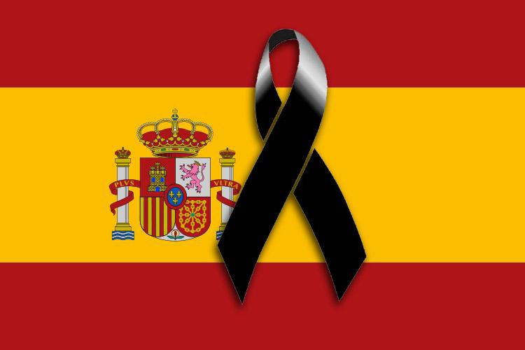 España está de luto por los