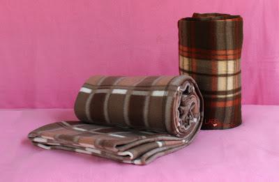 ผ้าห่มพกพา - พิมพ์ลายสวยๆ