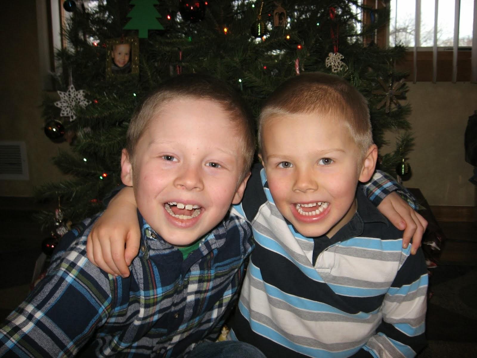 My precious sons