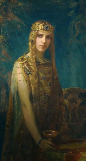 Isolde,love potion,Gaston Bussière