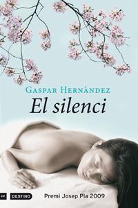 Portada catalana de El silencio, de Gaspar Hernández