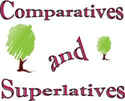 Karşılaştırmalar yapılmaktadır bunlar comparative ve superlative